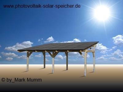 Solar carport alles wissenwerte auf for Solar carport preise