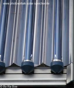 Solarthermie Vakuumkollektor