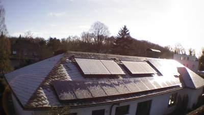 Solarthermie - und Photovoltaikanlage