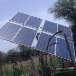 Solarmodule in Indien