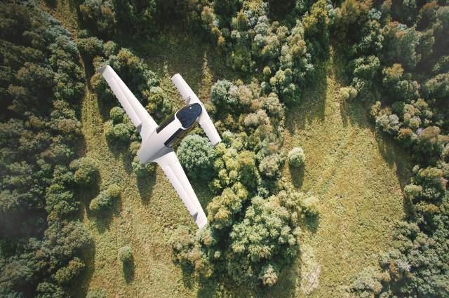 Fliegender Lilium Jet