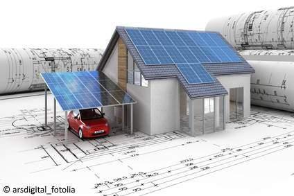 Solar Carport Planung