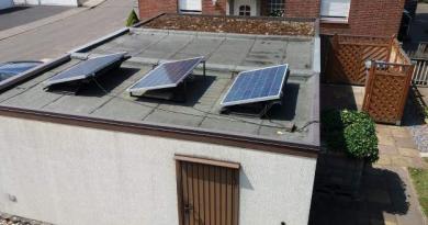 Mini Solaranlage