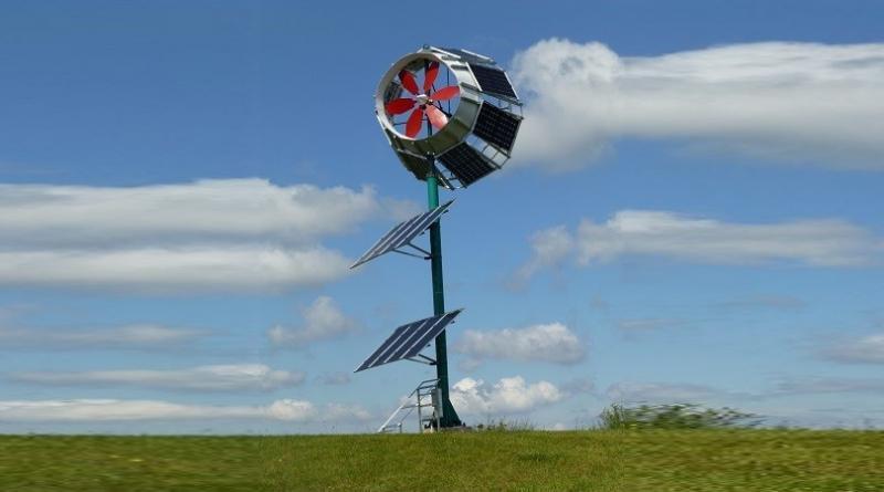 Skywolf - Wind Solar Hybrid Analge