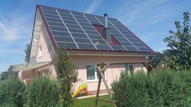 Photovoltaikanlage Aufdachmontage