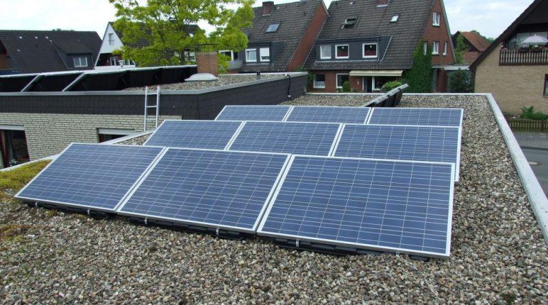 Photovoltaik Garagendach